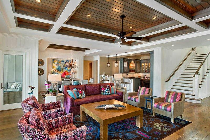 Country Interior - Family Room Plan #1017-157 - Houseplans.com