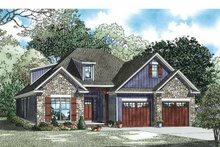 Country Exterior - Front Elevation Plan #17-3356