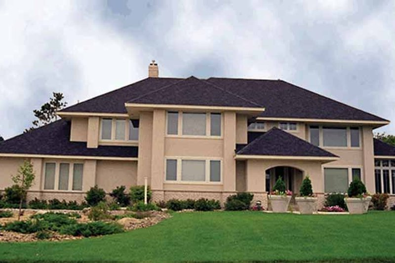 Dream House Plan - Mediterranean Exterior - Front Elevation Plan #51-792