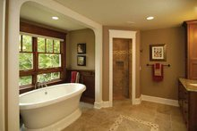 House Plan Design - Craftsman Interior - Master Bathroom Plan #928-30
