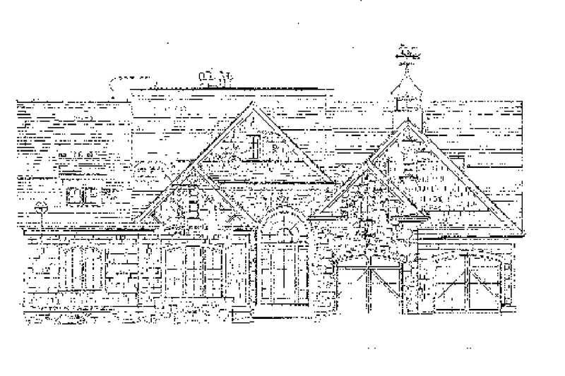 Country Exterior - Front Elevation Plan #453-301