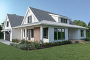 Farmhouse Style House Plan - 3 Beds 2.5 Baths 2070 Sq/Ft Plan #1070-87 Exterior - Other Elevation