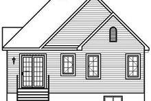 Traditional Exterior - Rear Elevation Plan #23-797