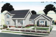 Traditional Exterior - Front Elevation Plan #513-2127