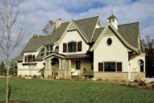 Architectural House Design - European Exterior - Front Elevation Plan #928-25
