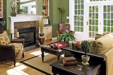 Country Interior - Family Room Plan #929-672