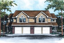 Dream House Plan - Traditional Exterior - Front Elevation Plan #20-565