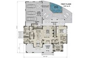 Farmhouse Style House Plan - 4 Beds 4.5 Baths 2913 Sq/Ft Plan #51-1153