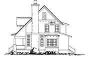 Cabin Style House Plan - 3 Beds 2 Baths 1825 Sq/Ft Plan #942-33 Exterior - Other Elevation