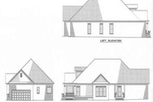 House Plan Design - Country Exterior - Rear Elevation Plan #17-1015