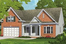 Ranch Exterior - Front Elevation Plan #453-631