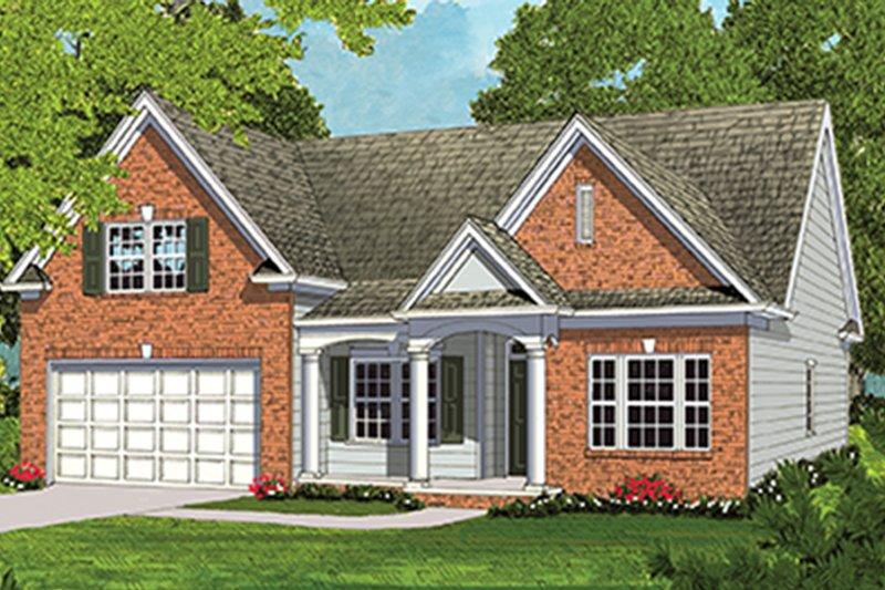 Ranch Exterior - Front Elevation Plan #453-631 - Houseplans.com