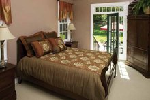 House Design - Country Interior - Master Bedroom Plan #929-672