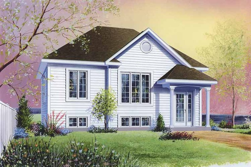 Colonial Exterior - Front Elevation Plan #23-2356