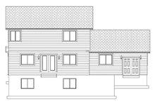 Traditional Exterior - Rear Elevation Plan #1060-33