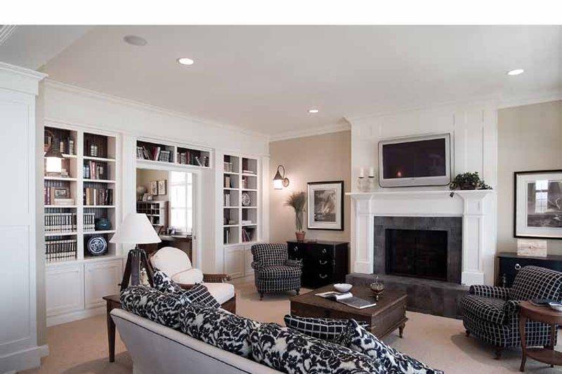 Craftsman Interior - Family Room Plan #928-59 - Houseplans.com