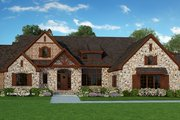 Craftsman Style House Plan - 3 Beds 3.5 Baths 2882 Sq/Ft Plan #929-928 Exterior - Front Elevation