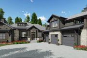 Farmhouse Style House Plan - 2 Beds 2.5 Baths 2442 Sq/Ft Plan #1069-21 Exterior - Front Elevation