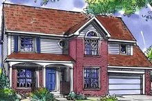 Home Plan - Country Exterior - Front Elevation Plan #320-454