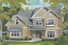 Craftsman Exterior - Front Elevation Plan #453-496