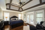 Country Style House Plan - 4 Beds 3 Baths 2578 Sq/Ft Plan #929-969 Interior - Master Bedroom