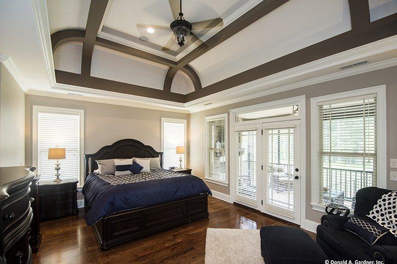 Country Interior - Master Bedroom Plan #929-969 - Houseplans.com