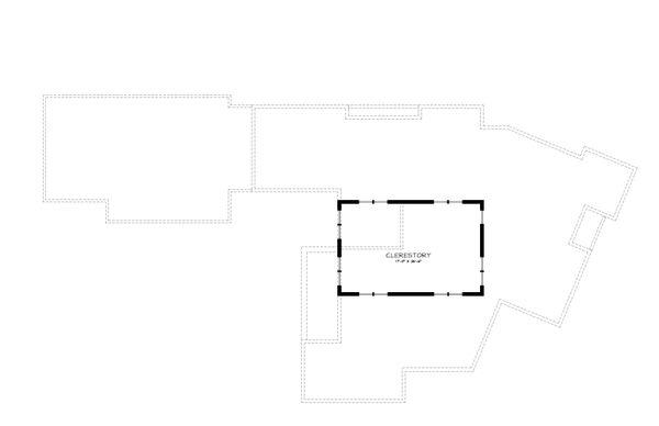 Prairie Style House Plan - 3 Beds 2.5 Baths 3095 Sq/Ft Plan #895-7 Floor Plan - Other Floor Plan
