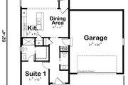 Craftsman Style House Plan - 4 Beds 3.5 Baths 2007 Sq/Ft Plan #20-2485