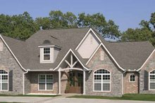House Plan Design - Contemporary Exterior - Front Elevation Plan #11-278