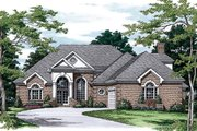 Colonial Style House Plan - 3 Beds 3.5 Baths 2774 Sq/Ft Plan #453-33 Photo