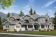 Dream House Plan - Craftsman Exterior - Front Elevation Plan #132-250
