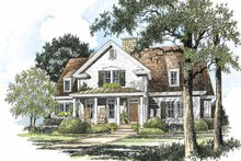 House Plan Design - Country Exterior - Front Elevation Plan #429-197