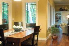 Architectural House Design - Prairie Interior - Dining Room Plan #928-50