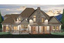 Craftsman Exterior - Rear Elevation Plan #937-2