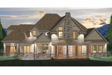 Craftsman Exterior - Rear Elevation Plan #937-2