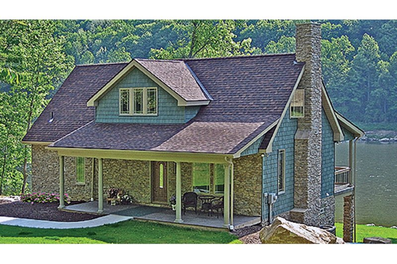 Craftsman Exterior - Front Elevation Plan #314-283