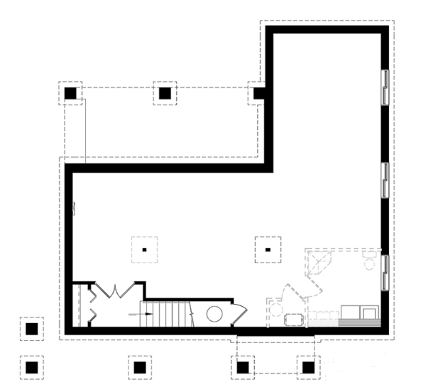 Contemporary Floor Plan - Other Floor Plan Plan #23-2316