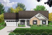 Farmhouse Exterior - Front Elevation Plan #40-164
