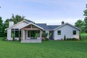 Farmhouse Style House Plan - 4 Beds 3 Baths 1871 Sq/Ft Plan #1070-74 Exterior - Rear Elevation