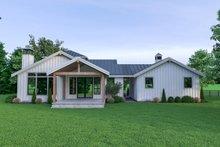Home Plan - Farmhouse Exterior - Rear Elevation Plan #1070-74