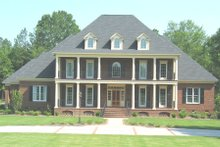 Dream House Plan - Colonial Exterior - Front Elevation Plan #1054-70