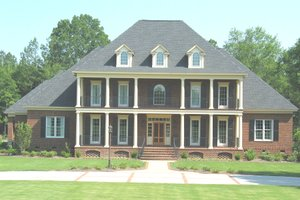 Architectural House Design - Colonial Exterior - Front Elevation Plan #1054-70