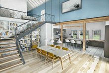 Farmhouse Interior - Dining Room Plan #924-5