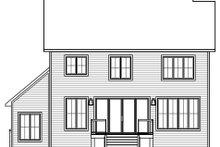 House Design - Farmhouse Exterior - Rear Elevation Plan #23-2734