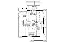 Cottage Floor Plan - Upper Floor Plan Plan #118-170