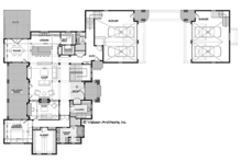 Ranch Floor Plan - Main Floor Plan Plan #928-293