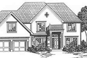 Traditional Exterior - Front Elevation Plan #6-140