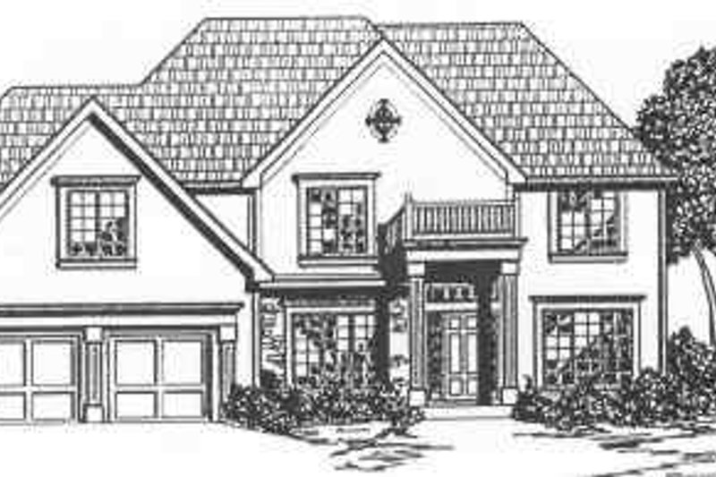 Traditional Style House Plan - 4 Beds 3.5 Baths 3080 Sq/Ft Plan #6-140