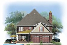 Dream House Plan - Country Exterior - Rear Elevation Plan #929-867