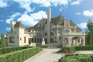 Home Plan - European Exterior - Front Elevation Plan #119-407